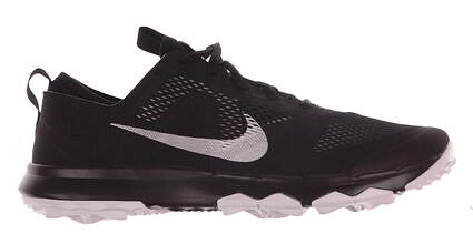 New Mens Golf Shoe Nike FI Bermuda 9.5 Black/White MSRP $110