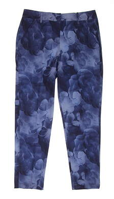 New Womens Puma Bloom Golf Pants Size 4 Peacoat MSRP $90