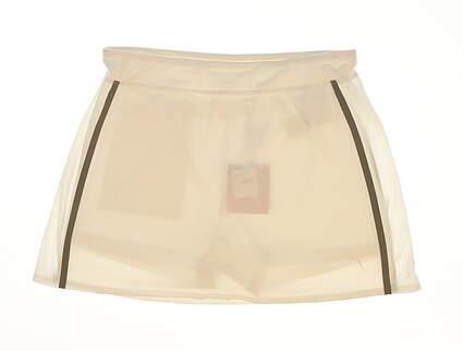 New Womens Puma Mesh Knit Golf Skort Size Small S Bright White MSRP $60