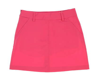 New Womens Puma Pounce Golf Skort Size 4 Shocking Pink MSRP $65