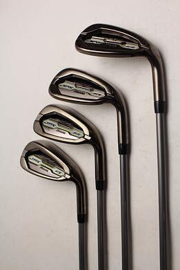 Mint Mizuno 2015 JPX EZ Ladies Iron Set 8-PW GW Fujikura Orochi Graphite Ladies Right Handed