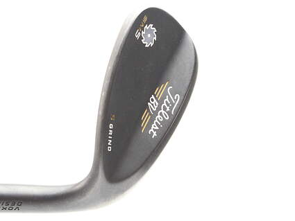Titleist Vokey SM5 Raw Black Wedge Lob LW 60* 7 Deg Bounce S Grind Dynamic Gold Tour Issue S400 Steel Stiff Right Handed 35 in