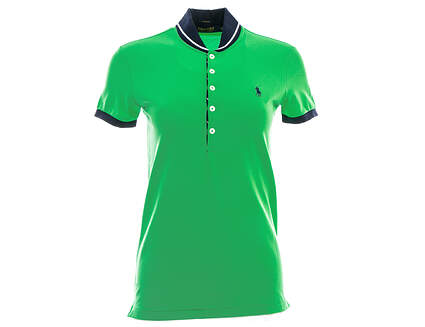 New Womens Ralph Lauren Golf Polo Large L Green MSRP $89.50