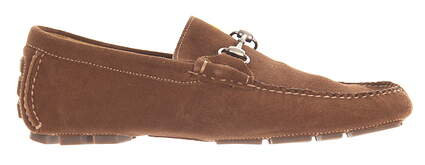 New Mens Golf Shoes Peter Millar Loafer Medium 10 Brown MSRP $300 MF15F06