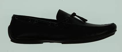 New Mens Golf Shoes Peter Millar Loafer Medium 10 Black MSRP $300 MF15F07