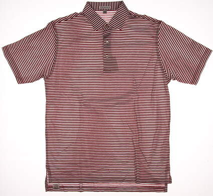 New W/ Logo Mens Peter Millar Golf Polo Medium M Multi MSRP $90
