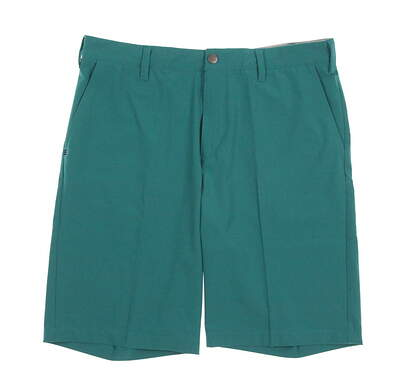New Mens Adidas Ultimate Golf Shorts Size 34 Green MSRP $65