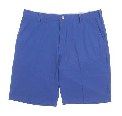 New Mens Adidas Ultimate Golf Shorts Size 34 Blue MSRP $65