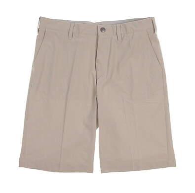 New Mens Adidas Ultimate Golf Shorts Size 34 Ecru MSRP $65