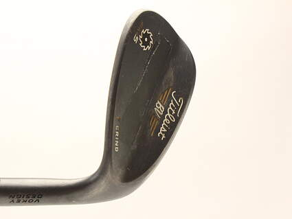 Titleist Vokey SM5 Raw Black Wedge Gap GW 50* 12 Deg Bounce F Grind Dynamic Gold Tour Issue S400 Steel Stiff Right Handed 35 in