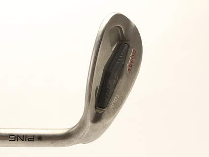 Ping Tour Gorge Wedge Lob LW 60* Standard Sole Ping CFS Steel Stiff Right Handed Black Dot 35 in