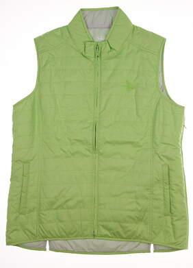 New Womens Peter Millar Golf Waterflowers Reversible Vest X-Small XS Green MSRP $130 LS16EZ01B