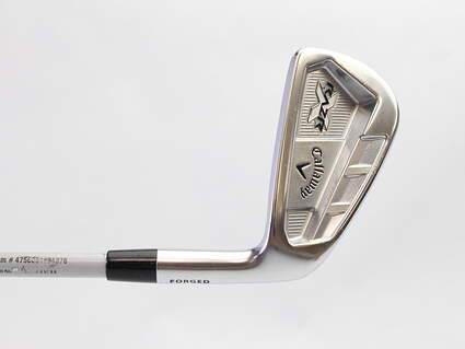 Callaway Razr X Forged Single Iron 6 Iron Project X Flighted 5.5 Steel Stiff Right Handed 37.5 in