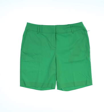 New Womens Cutter & Buck Annika Sage Shorts Size 8 Green (Whimsy) MSRP $88 LAB07002