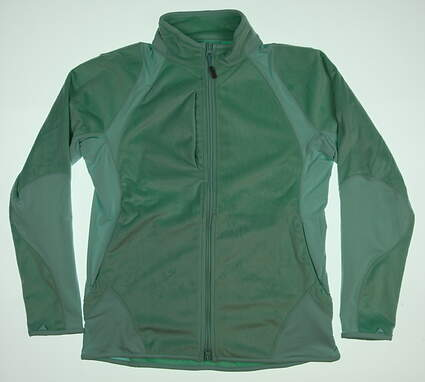 New Womens Peter Millar Hybrid Fleece Golf Jacket Large L Breeze MSRP $149.50