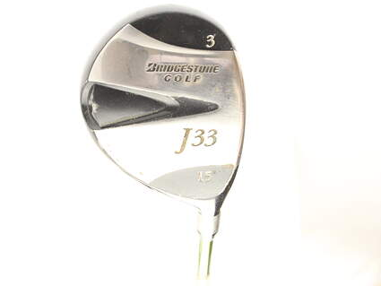 Bridgestone J33 Fairway Wood 3 Wood 3W 15* Aldila NV 75 Graphite Stiff Right Handed 43.5 in