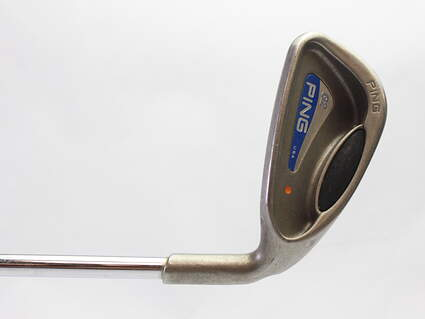 Ping G2 Single Iron 8 Iron Stock Steel Shaft Steel Stiff Right Handed Orange Dot 36.5 in