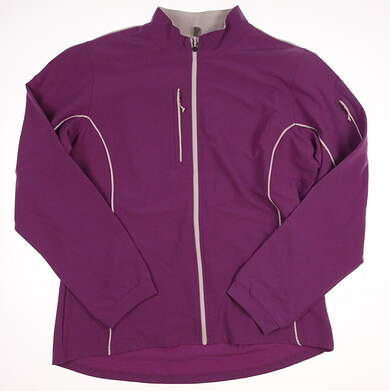 New Womens Peter Millar Devan Lightweight Wind Jacket X-Large XL Purple (Horizon) MSRP $159 LS13EZ05