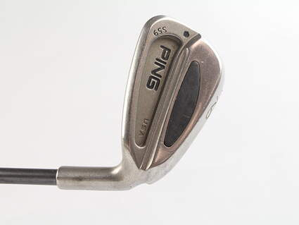 Ping S59 Single Iron 9 Iron Ping TFC 100I Graphite Stiff Right Handed Black Dot 35.75 in
