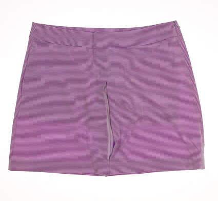 New Womens Puma Golf Peekaboo Skort Size Large L Orchid Bloom MSRP $75 570562 01