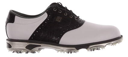 New Mens Golf Shoe Footjoy Dryjoys Tour Medium 9 White/Black MSRP $280 53610