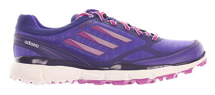 New Womens Golf Shoe Adidas Adizero Sport III Medium 7 Purple MSRP $80