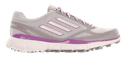 New Womens Golf Shoe Adidas Adizero Sport III Medium 5.5 Gray MSRP $80