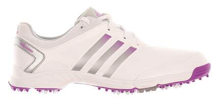 New W/O Box Womens Golf Shoe Adidas Adipower TR Medium 9 White MSRP $90