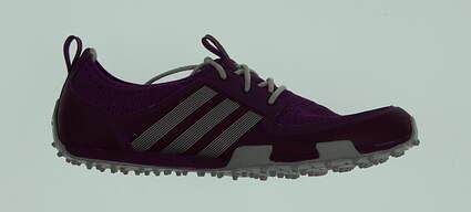 New W/O Box Womens Golf Shoe Adidas Climacool Ballerina II 8.5 Purple MSRP $60