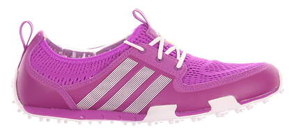 New Womens Golf Shoe Adidas Climacool Ballerina II 7.5 Purple MSRP $60