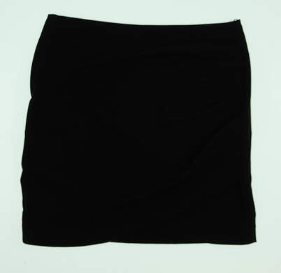 New Womens Lija Draped Golf Skort Size 4 Black MSRP $80