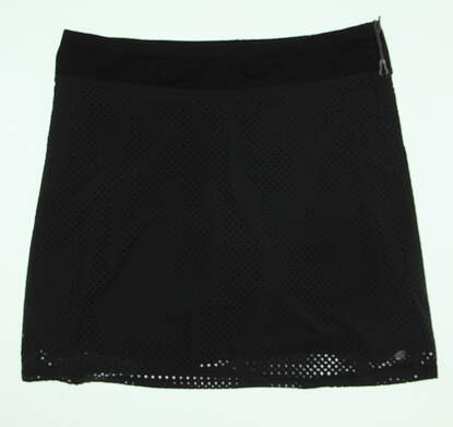 New Womens Lija Golf Skort Size Large L Black MSRP $80