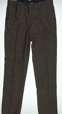 New Mens Peter Millar Golf Pants Size 40 Brown MSRP $145