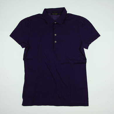 New Womens Ralph Lauren Golf Polo Medium M Purple MSRP $89