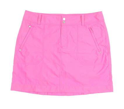 New Womens Ralph Lauren Golf Skort Size 12 Pink MSRP $125