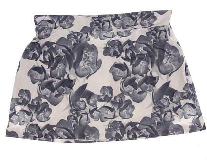 New Womens Puma Bloom Knit Golf Skort Size Large L Multi MSRP $65
