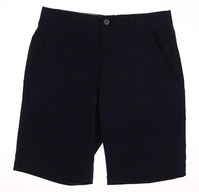 New Mens Under Armour Golf Shorts Size 32 Blue MSRP $65