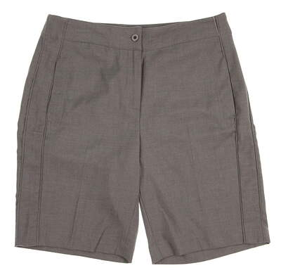 New Womens EP Pro Golf Shorts Size 4 Gray MSRP $72
