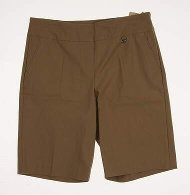 New Womens EP Pro All Shorts Size 12 Tan MSRP $50