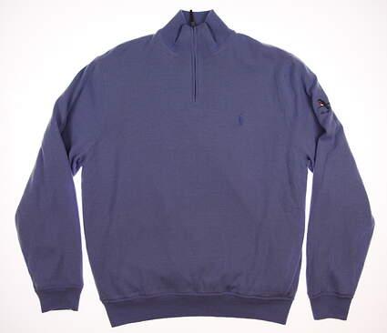 New Mens Ralph Lauren 1/4 Zip Golf Sweater Large L MSRP $260
