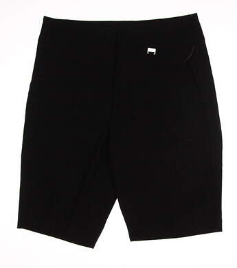 New Womens EP Pro Golf Shorts Size 8 Black MSRP $85