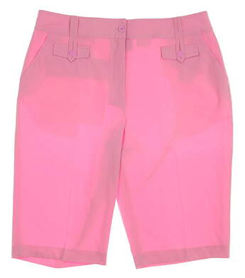 New Womens EP Pro Golf Shorts Size 14 Pink MSRP $72