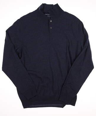 New Mens Ralph Lauren Golf Sweater Medium M Blue MSRP $175
