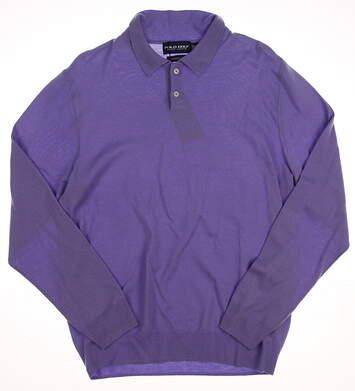 New Mens Ralph Lauren Golf Sweater X-Large XL Purple MSRP $175