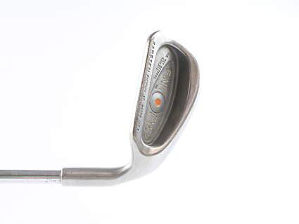 Ping Eye 2 Single Iron 9 Iron Ping ZZ Lite Steel Regular Right Handed Orange Dot 35.75 in