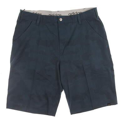 New Mens Adidas Dot Camo Golf Shorts Size 34 Green MSRP $75