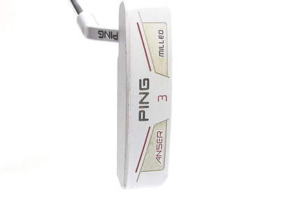 Tour Issue Ping Anser Milled 3 Putter Slight Arc Right Handed Black Dot 35 in Played by Mark Calcavecchia