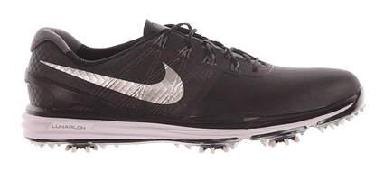 New Mens Golf Shoe Nike Lunar Control III 9.5 Black MSRP $240