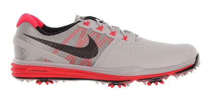 New Mens Golf Shoe Nike Lunar Control III 10.5 Gray/Bright Crimson MSRP $240