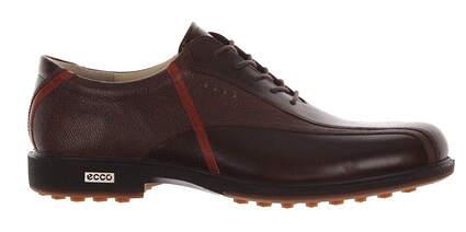 New Mens Golf Shoe Ecco Tour Hybrid 10 Brown MSRP $280